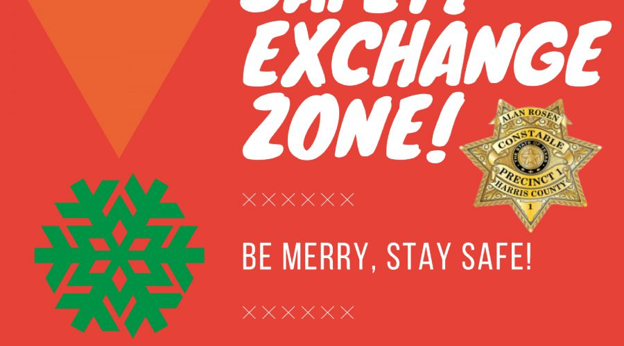 Precinct One Constables offering holiday safety exchange zone for safer transactions