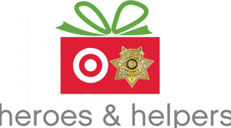 Precinct One Constable's Office partners with Target for Heroes and Helpers